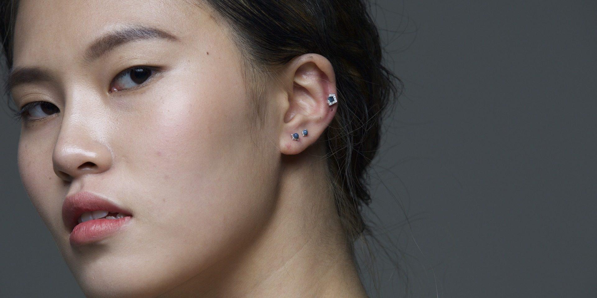 piercingul urechii de slăbire